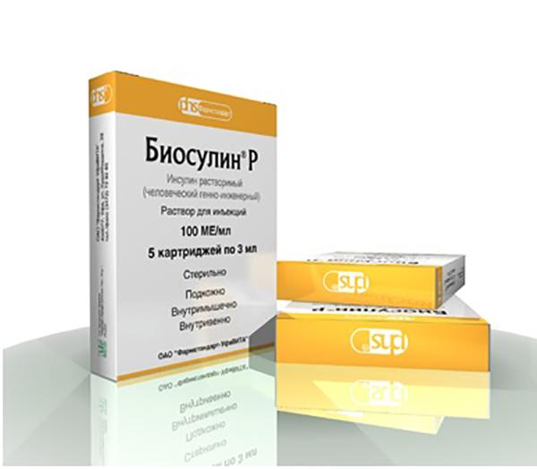 Биосулин Н цена в Томске от 537 руб., купить Биосулин Н, отзывы и инструкция по применению
