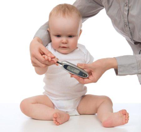 Гликозилированный гемоглобин у детей понижен в ммоль