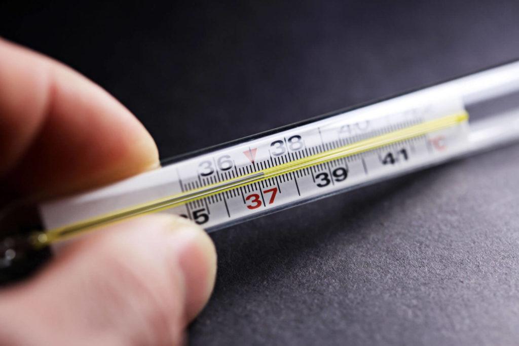 Сбить температуру при диабете