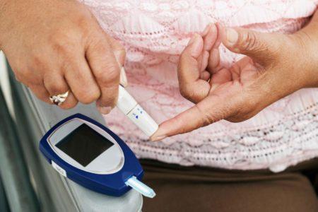 Температура кожи при сахарном диабете