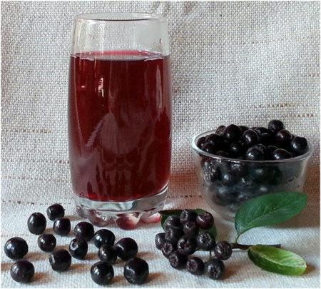 Напиток из рябины