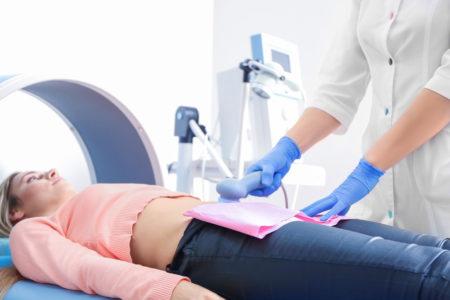 Использование физиотерапевтических методов
