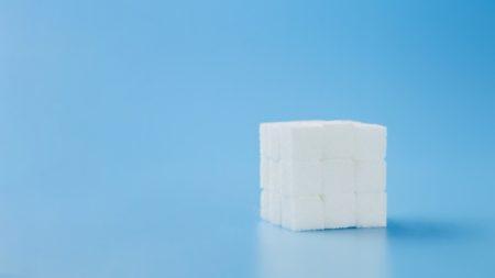 Сахарный кубик