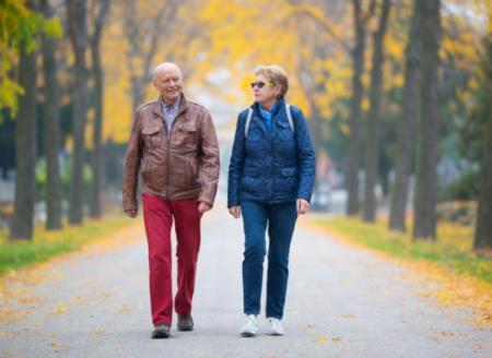 Прогулки - хорошая профилактика